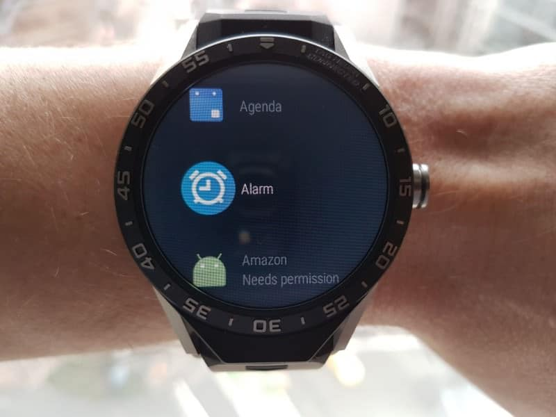 Tag Heuer Connected Smartwatch alarm