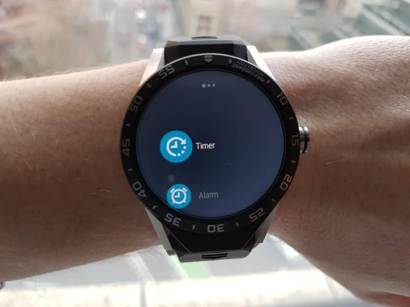 Tag Heuer Connected Smartwatch timer