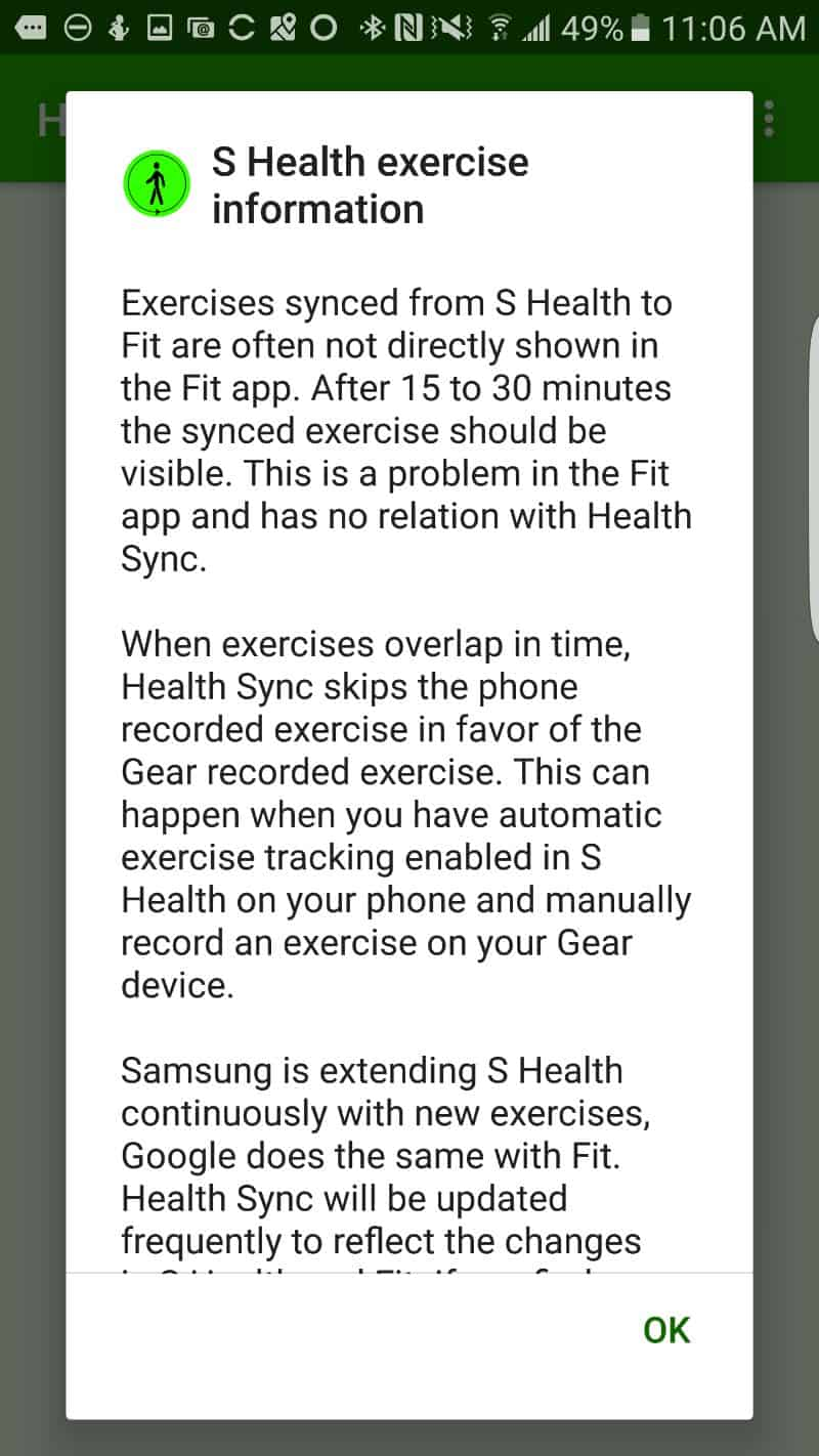 How To Sync Samsung's S Health With Google Fit