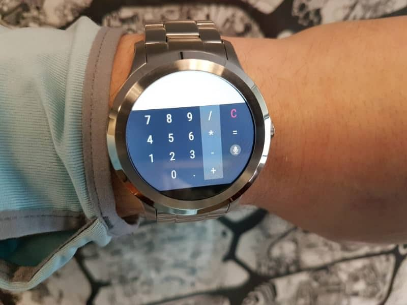 Fossil Q Founder 2 smartwatch alternative dial pad