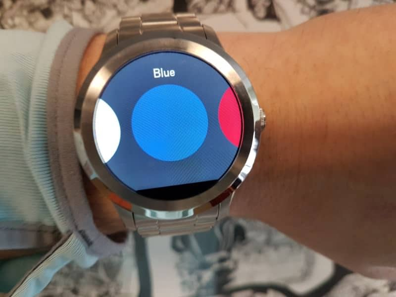 Fossil Q Founder 2 smartwatch screen options