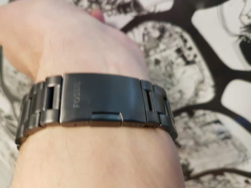 Band clasp for the Fossil Q Marshal Smartwatch