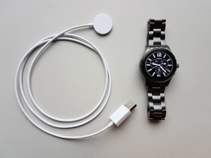 Fossil Q Marshal Smartwatch and charger