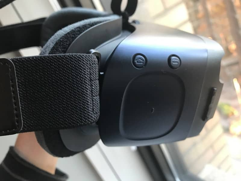 Samsung Gear VR navigation buttons