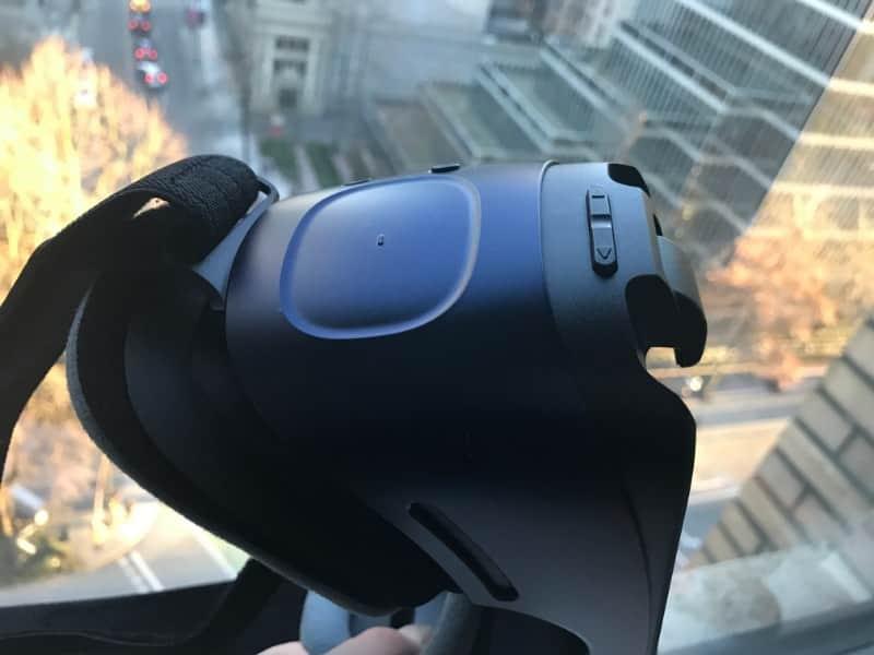 Samsung Gear VR volume control