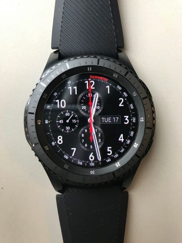 Front photo of the Samsung Gear S3 Frontier Smartwatch