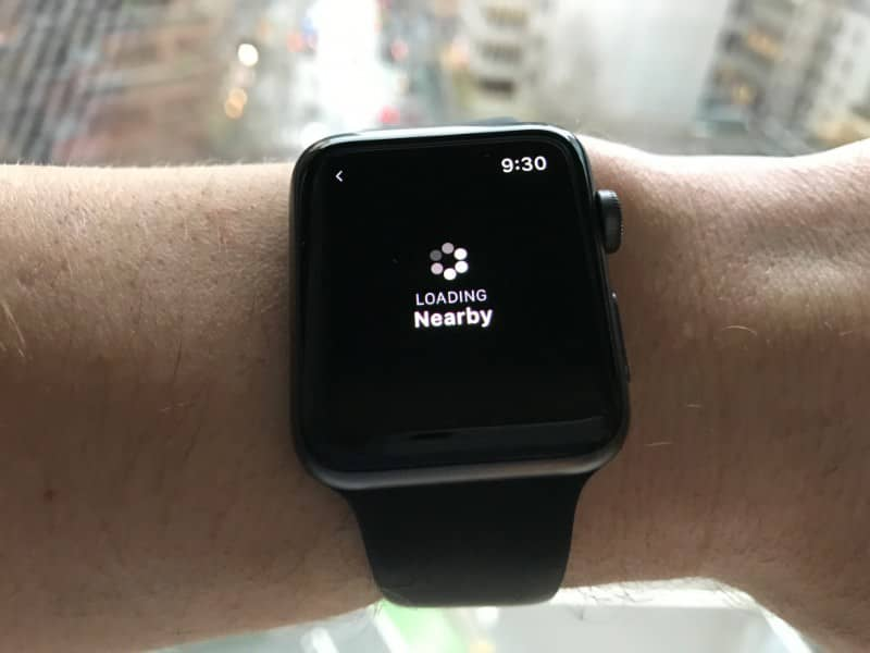 smart watch loading screen