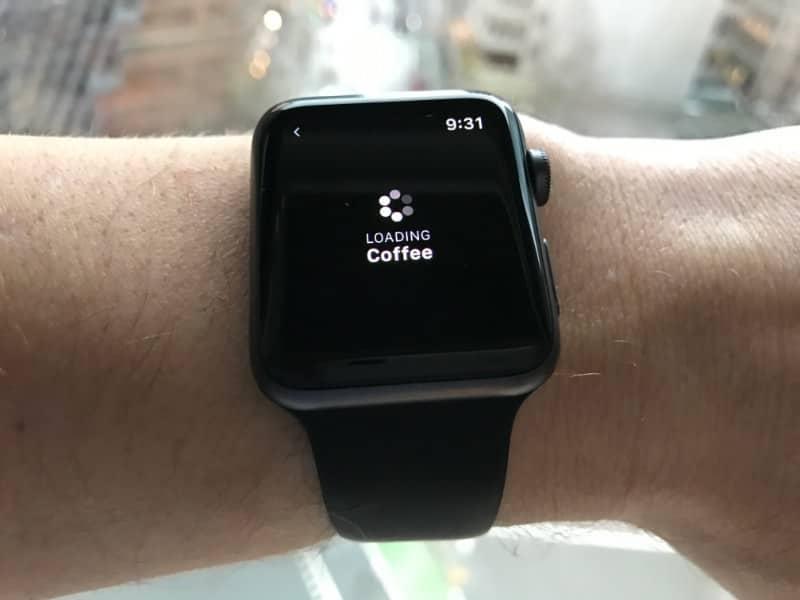 smart watch searching