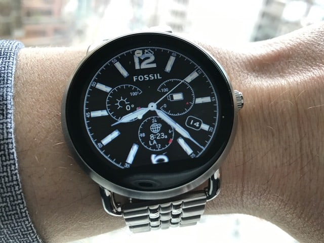 This Fossil Q Wander Review Highlights What's Special About this Fossil Smartwatch