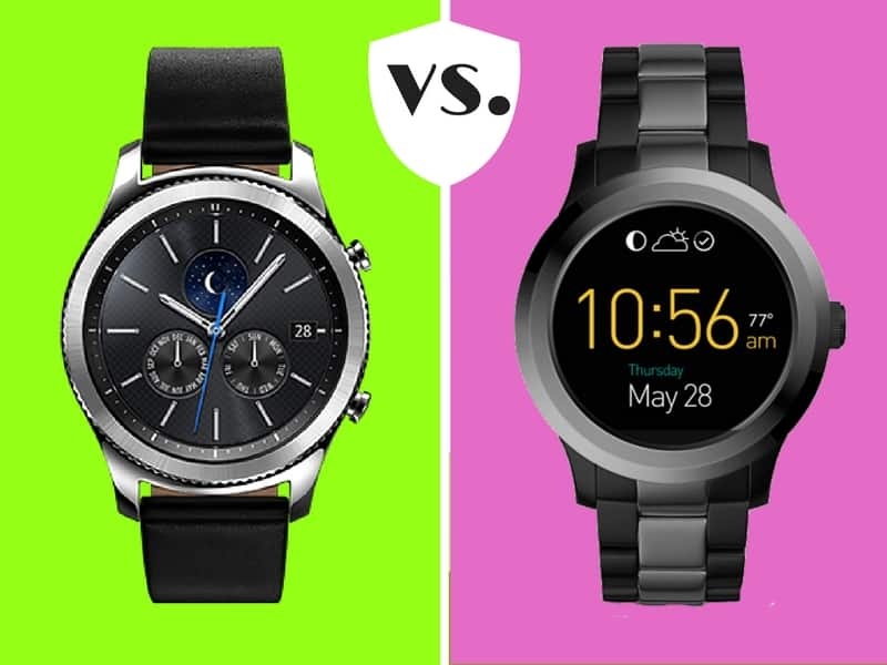samsung gear vs fossil q founder