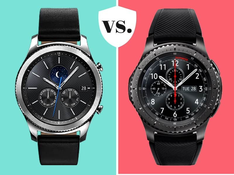 Samsung Gear S3 Classic vs Frontier