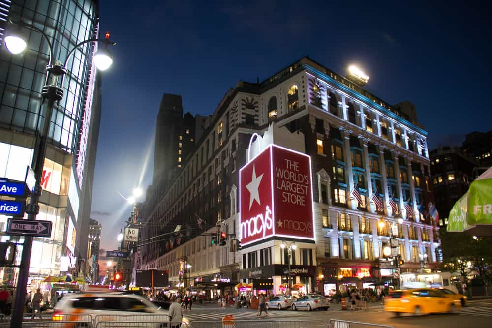 Macy's store in New York City
