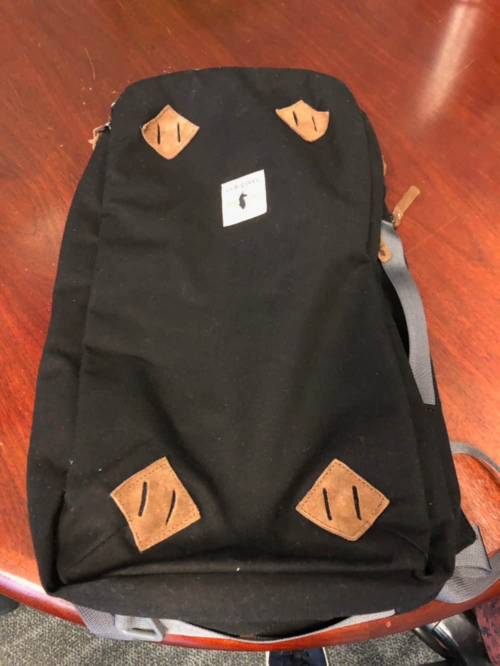 Rear view of the Cotopaxi Nazca backpack