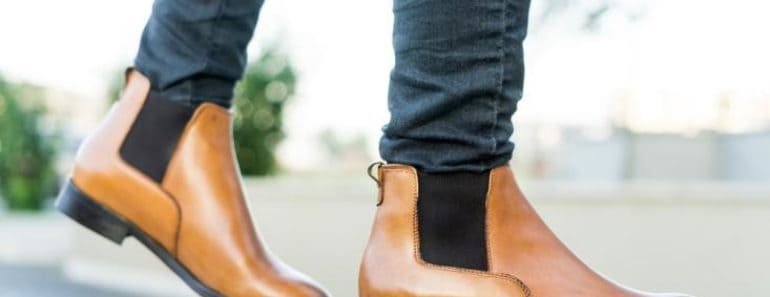 Medium-Brown Chelsea Boots