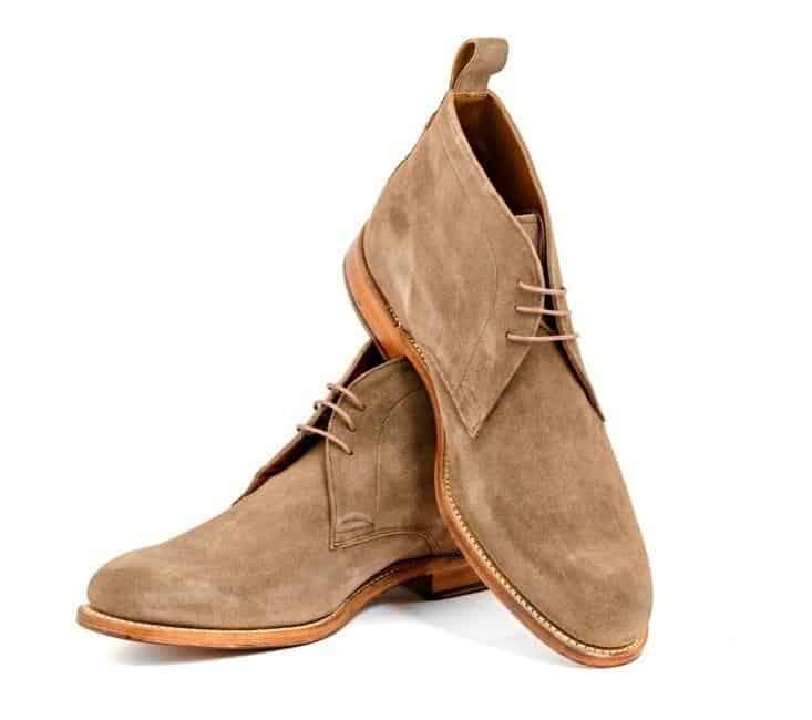Light Brown Chukka Boots