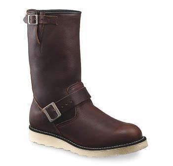 Red-Brown Engineer Boot