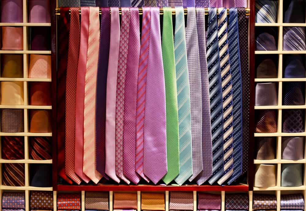 A collection of cravat.