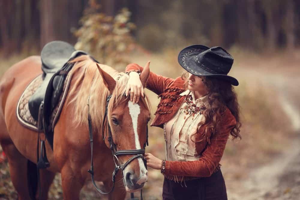 Girl Rocking a Cowboy Hat