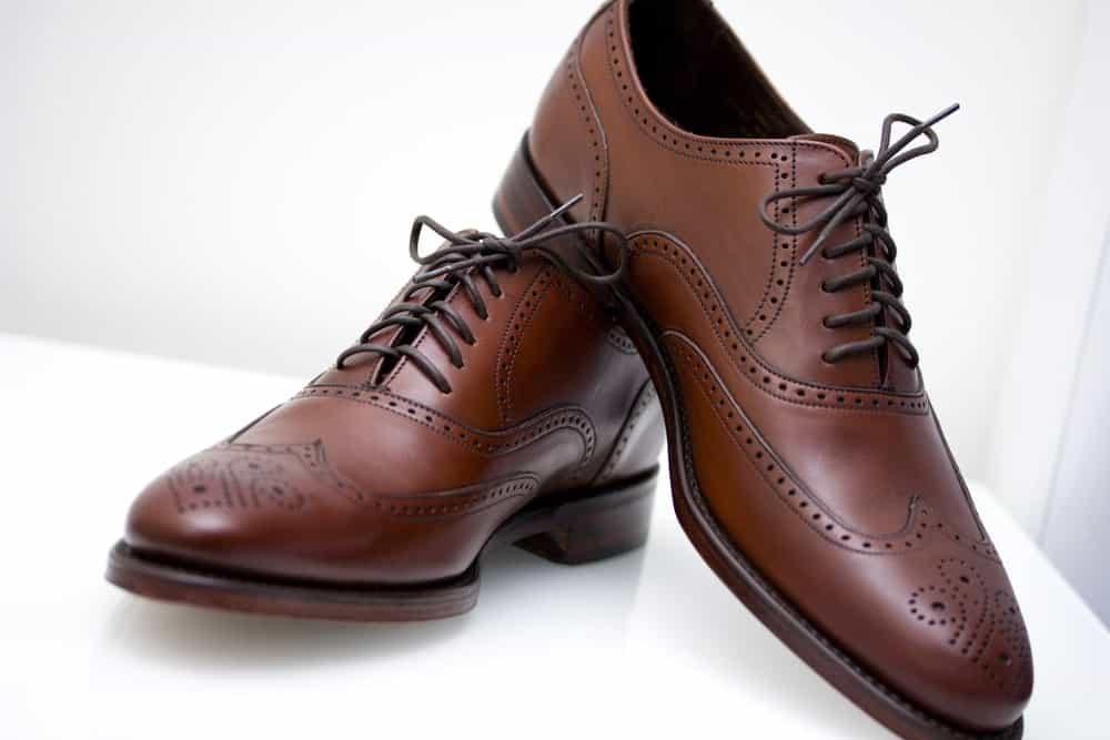 English Oxford shoe
