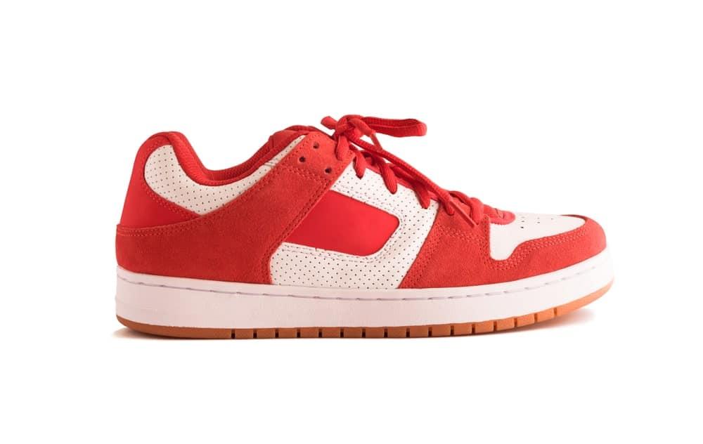 Pink high top sneakers