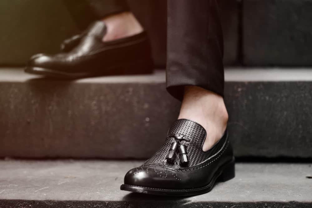 Stylish tassel loafers