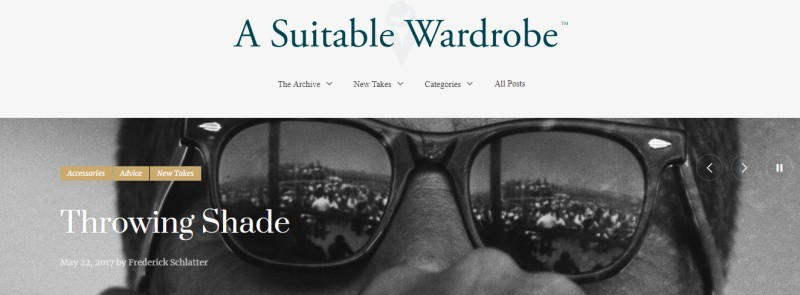 A Suitable Wardrobe Blog
