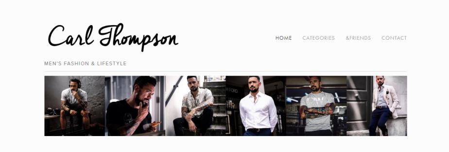 Carl Thompson Blog for Men's wear