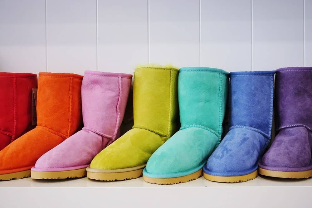Uggs in different colors