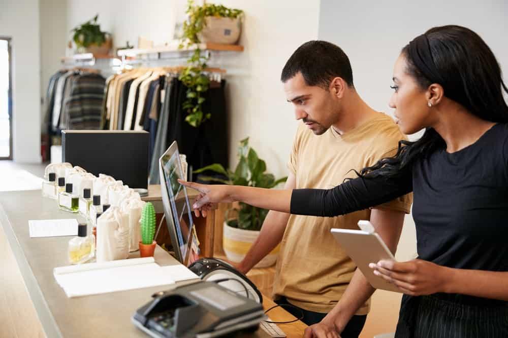 Fashion buyer at work