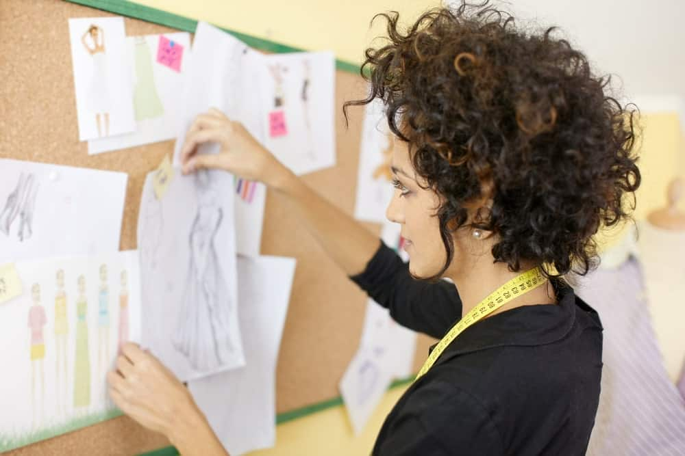 Female fashion publicist