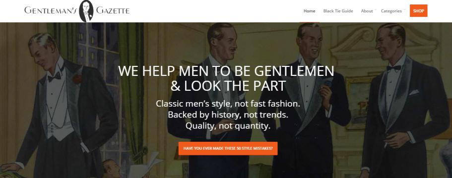 Gentleman's Gazette Blog