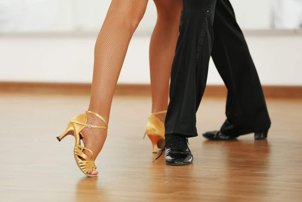 Ballroom dance heels