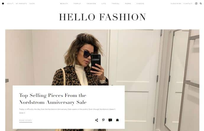 Hello Fashion blog for fashion advice