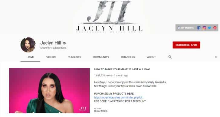 Jaclyn Hill vlogs on fashion