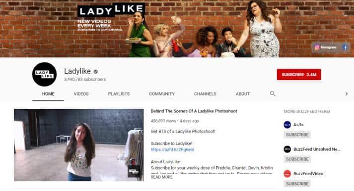 LadyLike vlogs on beauty
