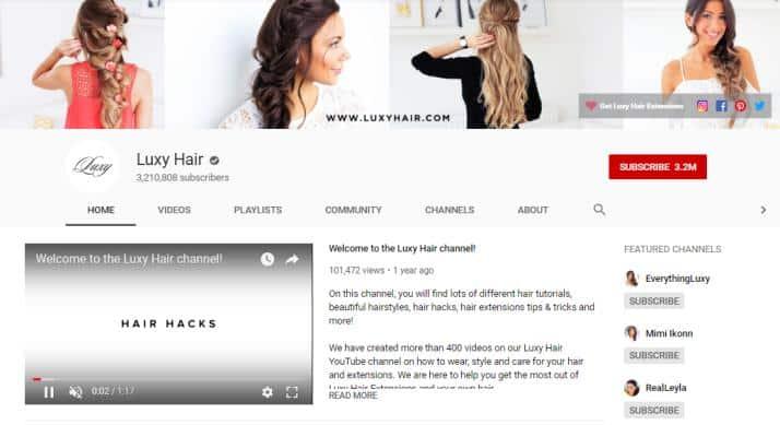 Luxy Hair vlog on fashion