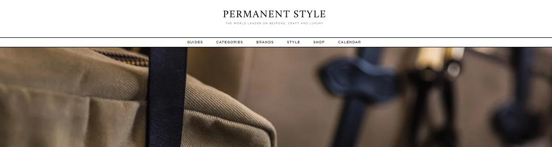 Permanent Style Blog