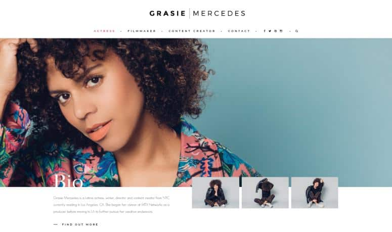 Style Me Grasie website for fashion