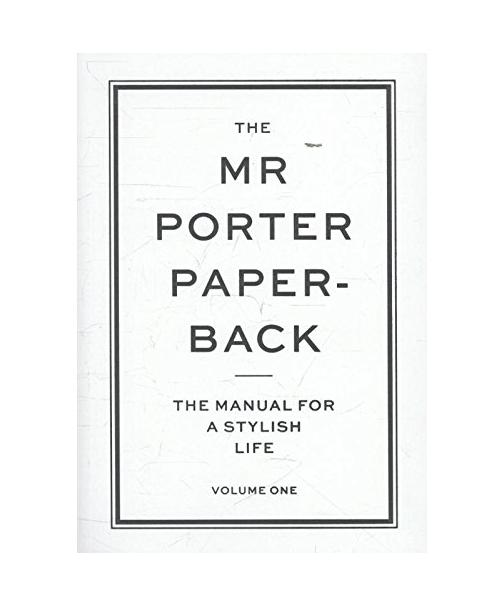 The Mr. Porter Paperback for men