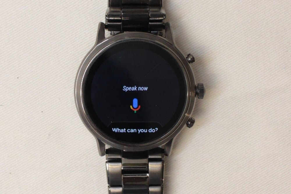 Fossil Gen 5 Carlyle Google Assistant