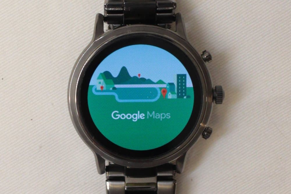 Fossil Gen 5 Carlyle Google Maps