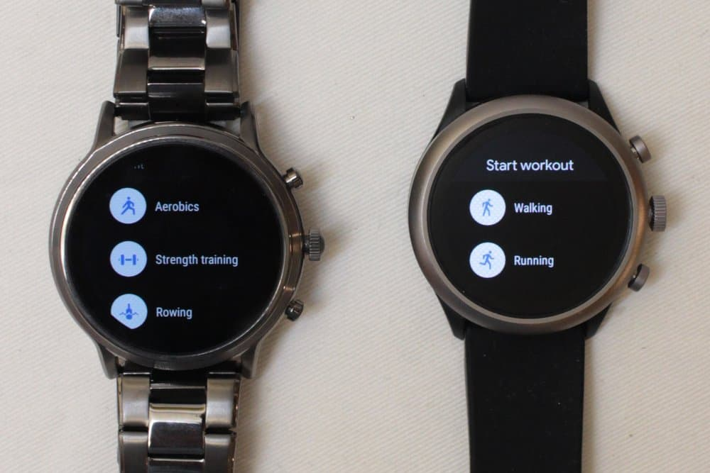 Fossil Gen 5 Carlyle vs Fossil Sport Google Fit sports