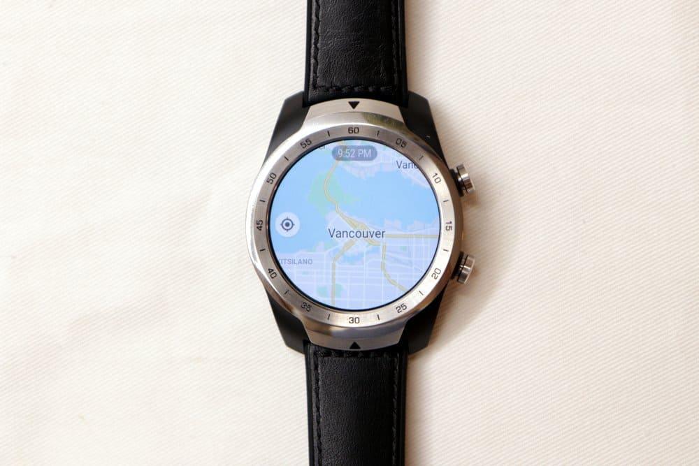 Ticwatch Pro Google Maps