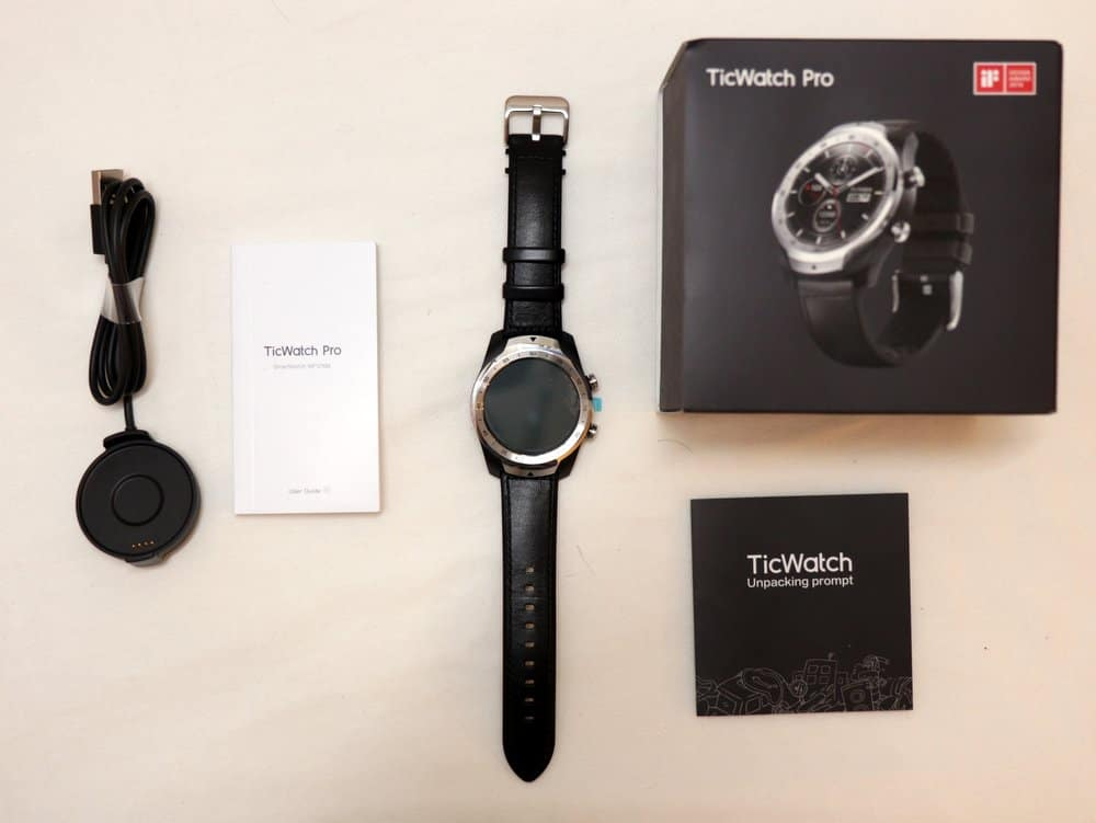 Ticwatch Pro unboxed