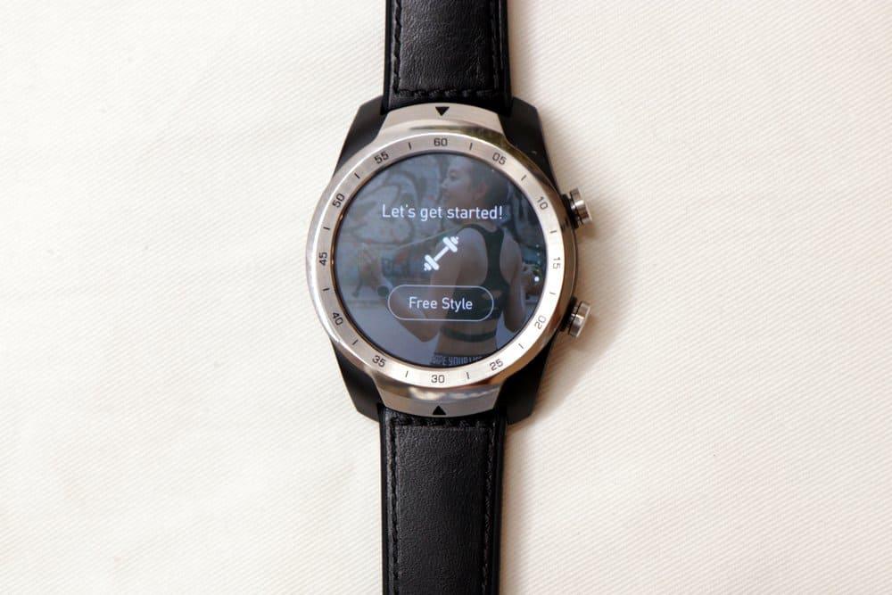 Ticwatch Pro TicExercise