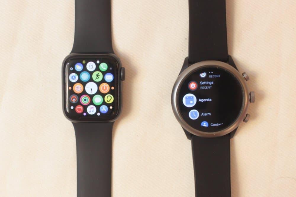 apple watch series 5 vs fossil sport smartwatch apps