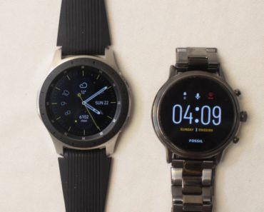 Samsung Galaxy Watch vs Fossil Gen 5 Carlyle watch face