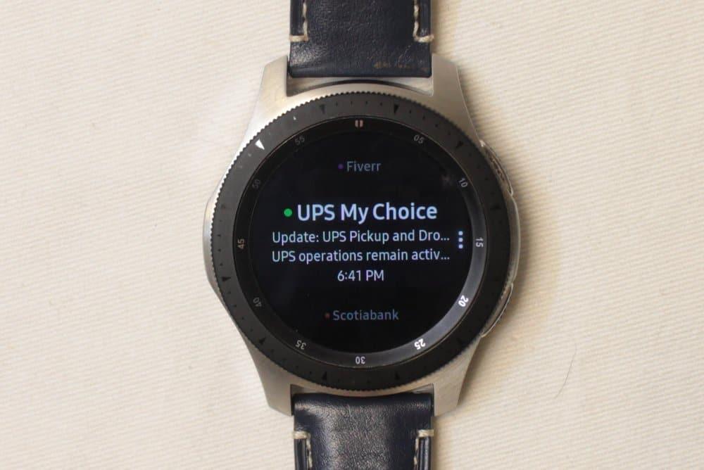 Samsung Galaxy Watch email