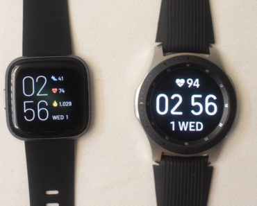 galaxy watch vs fitbit versa 2 main screen