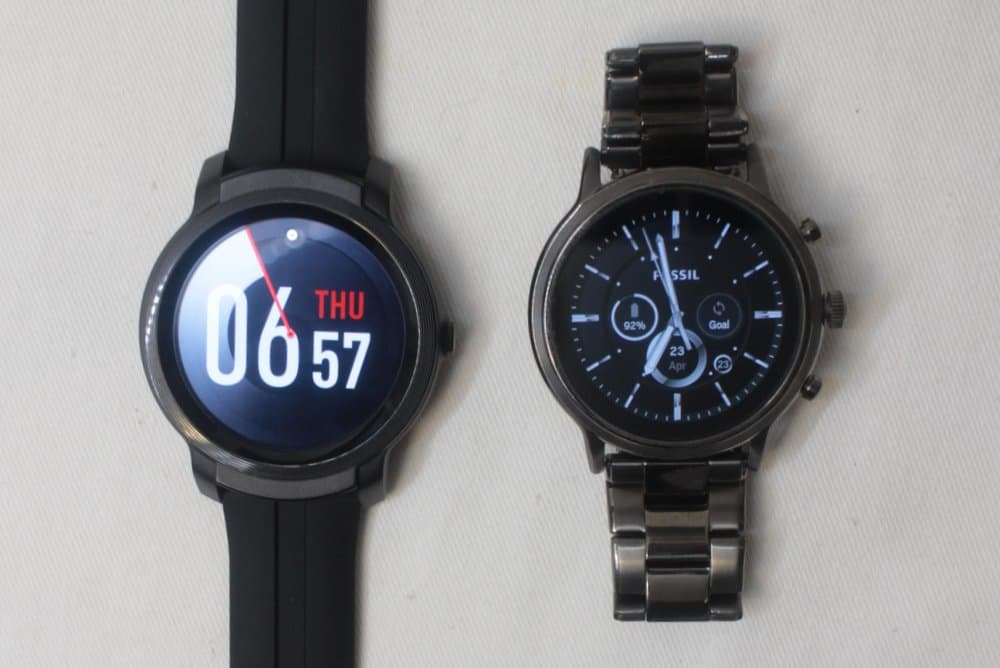 ticwatch e2 vs fossil gen 5 carlyle watch faces